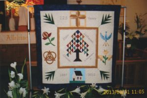 Zion - Pic (Quilt to commemorate 125th.Made by Kathy Sims) - 2-14-18